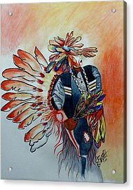 Sun Dancer Acrylic Print