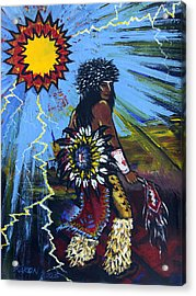 Sun Dancer Acrylic Print by Karon Melillo DeVega