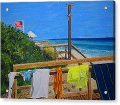 Sun Deck Acrylic Print by John Terry