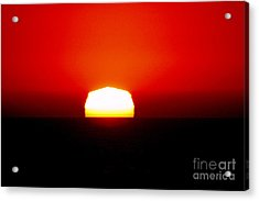 Sun Dipping Acrylic Print