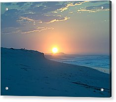 Acrylic Print featuring the photograph Sun Dune by  Newwwman