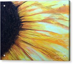 Acrylic Print featuring the painting Sun Flower by Sheron Petrie
