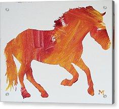 Sun Horse Acrylic Print