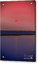 Sun Is Coming Down Acrylic Print