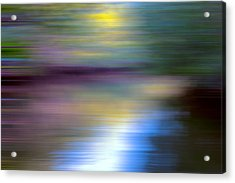 Sun Kissed Planet Acrylic Print by Evie Carrier