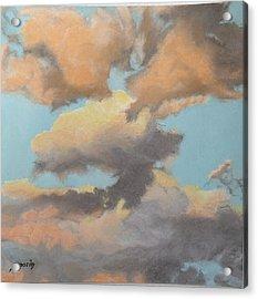 Sun Kissed Sky Acrylic Print by Harvey Rogosin