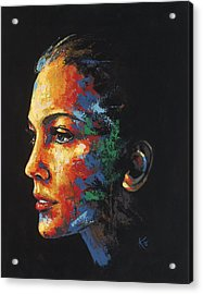 Sun Kissed - With Hidden Pictures Acrylic Print by Konni Jensen