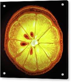 Sun Lemon Acrylic Print
