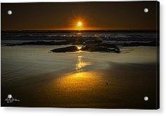 Sun Reflection Acrylic Print