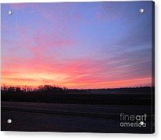 Sun Rise Acrylic Print by Susan Parsley