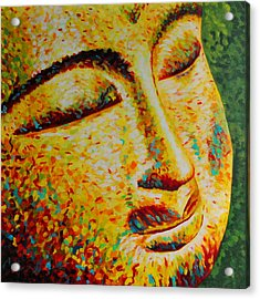 Sun Salutation Acrylic Print by Melanie Cossey
