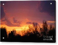 Sun Set Acrylic Print