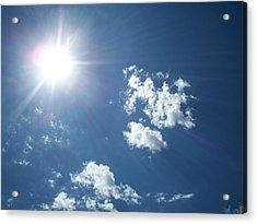 Sun Shine Acrylic Print by Trenton Heckman