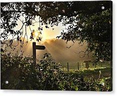 Sun Sign Acrylic Print