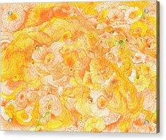 Sun - #ss16dw022 Acrylic Print by Satomi Sugimoto