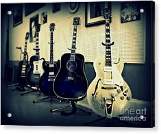 Sun Studio Classics Acrylic Print by Perry Webster