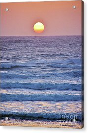 Sun To Sea Acrylic Print