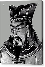 Sun Tzu Acrylic Print by War Is Hell Store