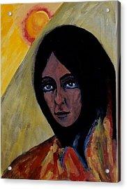 Sun Woman Acrylic Print