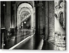 Sunbeam Inside The Church Acrylic Print