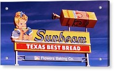 Sunbeam - Texas Best Bread Acrylic Print