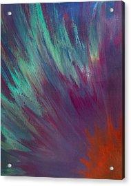 Sunburst Aura Acrylic Print