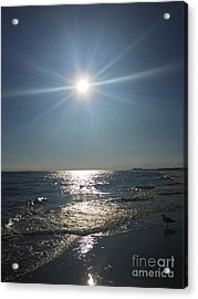 Sunburst Reflection Acrylic Print