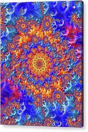 Sunburst Supernova Acrylic Print