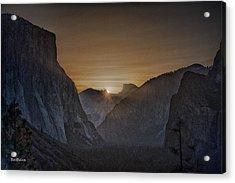 Sunburst Yosemite Acrylic Print by Bill Roberts