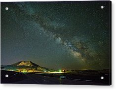 Acrylic Print featuring the photograph Sundance Milky Way by Fiskr Larsen