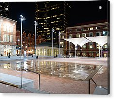 Sundance Square Fort Worth 3 Acrylic Print