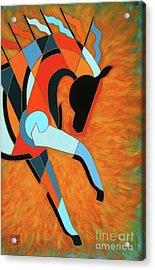 Sundancer Of The Fire I Acrylic Print