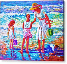 Sunday Afternoon At The Beach Acrylic Print