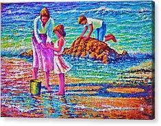 Sunday Afternoon Beach Study Acrylic Print