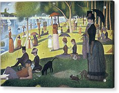 Sunday Afternoon On The Island Of La Grande Jatte Acrylic Print by Georges Seurat