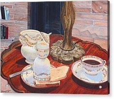 Sunday Breakfast Acrylic Print