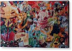 Sunday Brunch Acrylic Print by Nancy Graham
