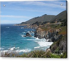 Sunday Drive - California Coast Acrylic Print
