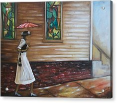Acrylic Print featuring the painting Sunday by Emery Franklin