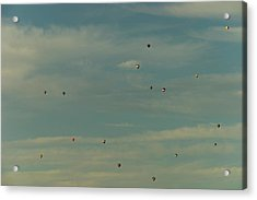 Sunday Meeting Acrylic Print