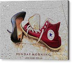 Acrylic Print featuring the photograph Sunday Morning by Don Pedro De Gracia