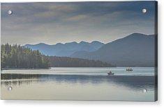 Sunday Morning Fishing Acrylic Print by Chris Lord
