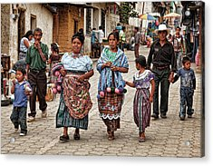Sunday Morning In Guatemala Acrylic Print
