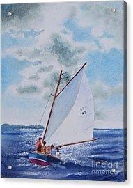 Sunday Sail Acrylic Print
