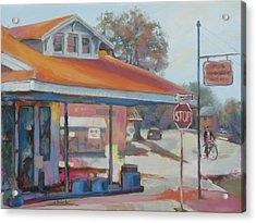 Sunday Traffic Acrylic Print by Carol Strickland