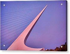 Sundial Bridge Acrylic Print
