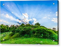 Acrylic Print featuring the photograph Sundown by Anthony Rego