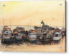 Sundown At Destin Acrylic Print