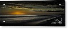 Sundown At Santa Rosa Beach Acrylic Print by Walt Foegelle