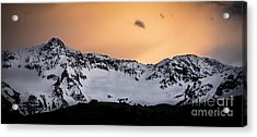 Acrylic Print featuring the photograph Sundown At Sneffels Range by The Forests Edge Photography - Diane Sandoval
